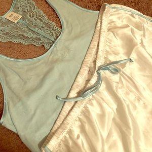 Bride Pajama Shorts and Tank Set